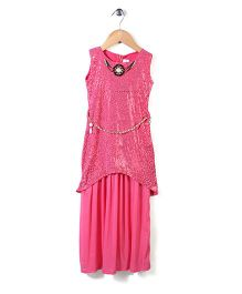 Lei Chie Western Gown- Pink