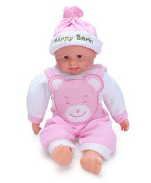 Smiles Creation Laughing Doll - Pink