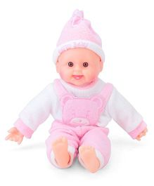 Smiles Creation Happy Baby Doll - Pink