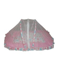 Luk Luck Baby Mosquito Net Bed Set - Pink