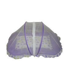 Luk Luck Baby Mosquito Net Bed Set - Violet