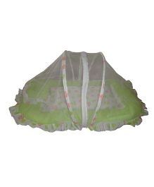 Luk Luck Baby Mosquito Net Bed Set - Green