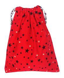 Kadambaby Stars Gift Sack Polka Dot - Red And White