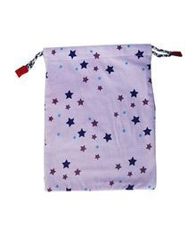 Kadambaby Stars Gift Sack - Purple