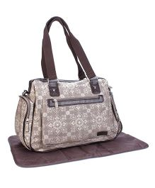 Colorland Mother Bag - Brown Cream
