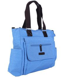 Mother Bag With Changing Mat - Blue