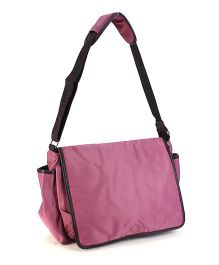 Mother Bag With Changing Mat - Pink
