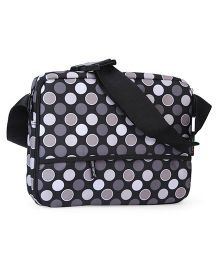 Colorland Polka Dot Mother Bag - Black
