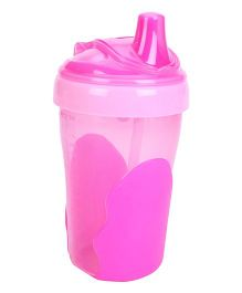 Vital Baby Toddler Straw Cup Pink - 280 ml