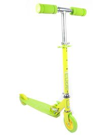 Edge Lollipop Folding Scooter - Yellow & Green