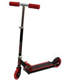Edge Folding Scooter - Black And Red