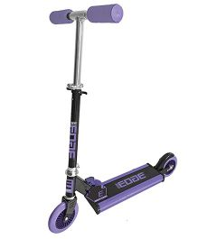 Edge Folding Scooter - Purple And Black
