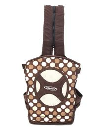 Colorland 4 Way Baby Carrier Polka Dots - Brown