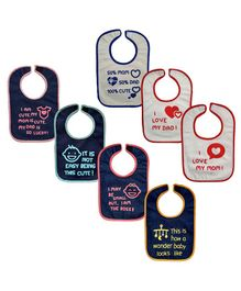 Meukebaby Bibs - Pack Of 7