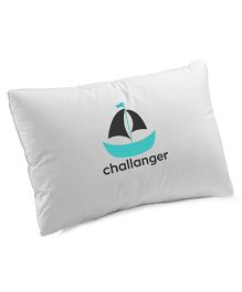 Nashonbaby Pillow With Cover - Turquoise
