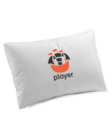 Nashonbaby Pillow With Cover - Orange