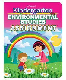Kindergarten Environmental Studies Assignment Book - English
