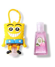 EZ Life SpongeBob Sanitizer With Holder - Multicolor