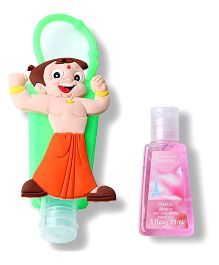 EZ Life Chhota Bheem Sanitizer With Holder - Multicolor