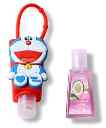 EZ Life Small Doraemon Sanitizer With Holder - Multicolor
