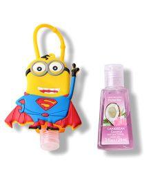 EZ Life Superman Minion Sanitizer With Holder - Multicolor