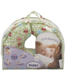 Chicco Boppy Pillow Cotton Slip Cover Ladybug Lane - Green