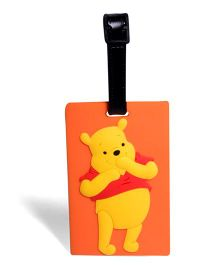 EZ Life Bear Luggage Tag - Orange