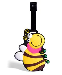 EZ Life Bee Luggage Tag - Yellow
