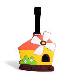 EZ Life House Luggage Tag - Multicolour