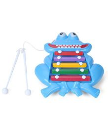 Prime Pull Along Xylophone - Light Blue