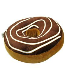 Stybuzz Doughnut Pillow - Brown