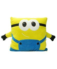 Stybuzz Minions Cushion - Yellow & Blue