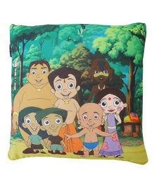 Orka Chhota Bheem Digital Printed Square Cushion Filled With Micro Beads