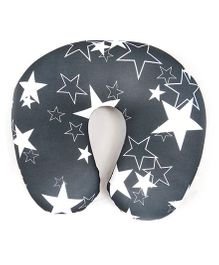 Orka Star Digital Printed U Neck Pillow Filled With Micro Beads