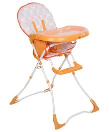 Babyhug Foodjoy High Chair - Orange