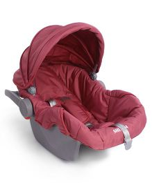 Babyhug Take Me Along Car Seat cum Carrycot - Mauve