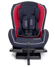 Babyhug Convertible Safe Journey Car Seat - Dark Blue & Red