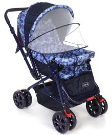 Babyhug Moon Walk Stroller - Blue