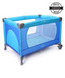 Babyhug Zippy Playpen - Blue