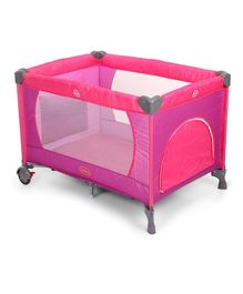 Babyhug Zippy Playpen - Pink