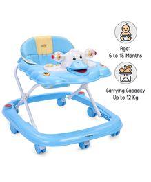 Babyhug Happy Duck Musical Walker - Blue