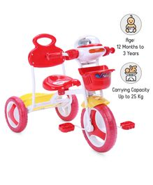 Babyhug Funride Tricycle - Red