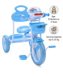 Babyhug Funride Tricycle - Blue