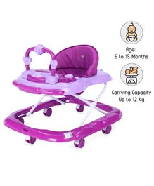 Babyhug My Toyfun Musical Walker - Purple