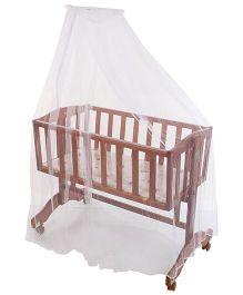 Babyhug Swing n Sleep Cradle - Cherry