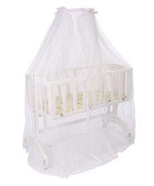 Babyhug Swing n Sleep Cradle - White
