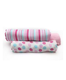 Mi Dulce An'ya Swaddle Wrapper Set of 3 - Pink