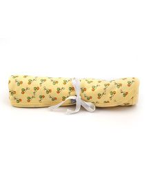 Mi Dulce An'ya Reversible Organic Cotton Blanket - Yellow
