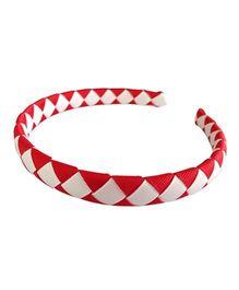 NeedyBee Woven Hair Band - Red