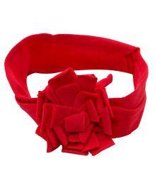 NeedyBee Flower Headband - Red